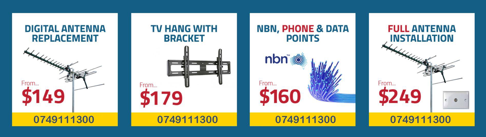 TV repair special pricing
